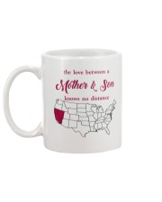 CALIFORNIA NEVADA THE LOVE MOTHER AND SON Mug back