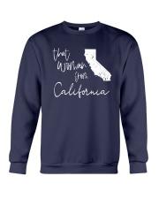 THAT WOMAN FROM  CALIFORNIA Crewneck Sweatshirt thumbnail