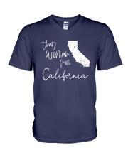 THAT WOMAN FROM  CALIFORNIA V-Neck T-Shirt thumbnail