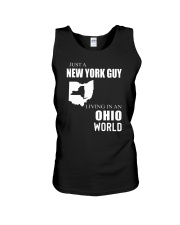 JUST A NEW YORK GUY IN AN OHIO WORLD Unisex Tank thumbnail