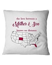 FLORIDA COLORADO THE LOVE MOTHER AND SON Square Pillowcase thumbnail