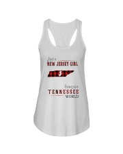 JUST A NEW JERSEY GIRL IN A TENNESSEE WORLD Ladies Flowy Tank thumbnail