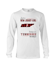 JUST A NEW JERSEY GIRL IN A TENNESSEE WORLD Long Sleeve Tee thumbnail