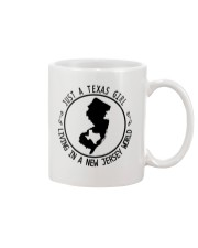 TEXAS GIRL LIVING IN NEW JERSEY WORLD Mug thumbnail