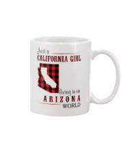 JUST A CALIFORNIA GIRL IN AN ARIZONA WORLD Mug thumbnail
