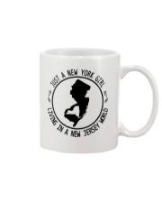 NEW YORK GIRL LIVING IN NEW JERSEY WORLD Mug thumbnail