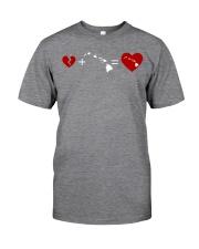HEART AND MAP HAWAII Classic T-Shirt thumbnail