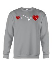 HEART AND MAP HAWAII Crewneck Sweatshirt thumbnail