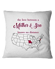 NEW JERSEY MISSOURI THE LOVE MOTHER AND SON Square Pillowcase thumbnail