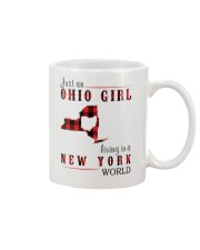JUST AN OHIO GIRL IN A NEW YORK WORLD Mug thumbnail