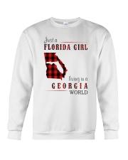 JUST A FLORIDA GIRL IN A GEORGIA WORLD Crewneck Sweatshirt thumbnail