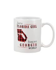 JUST A FLORIDA GIRL IN A GEORGIA WORLD Mug thumbnail