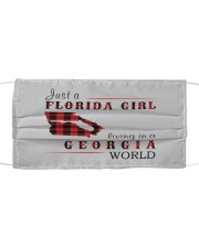JUST A FLORIDA GIRL IN A GEORGIA WORLD Cloth face mask thumbnail