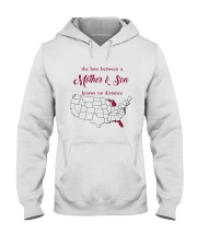 FLORIDA MICHIGAN THE LOVE MOTHER AND SON Hooded Sweatshirt thumbnail