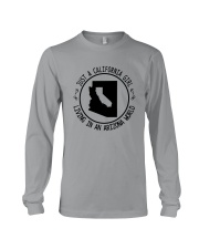 CALIFORNIA GIRL LIVING IN ARIZONA WORLD Long Sleeve Tee thumbnail