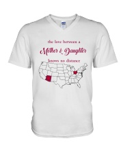 OHIO ARIZONA THE LOVE MOTHER AND DAUGHTER V-Neck T-Shirt thumbnail