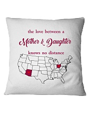 OHIO ARIZONA THE LOVE MOTHER AND DAUGHTER Square Pillowcase thumbnail