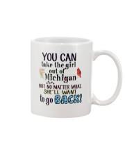 YOU CAN TAKE THE GIRL OUT OF MICHIGAN Mug thumbnail