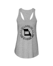 COLORADO GIRL LIVING IN MISSOURI WORLD Ladies Flowy Tank thumbnail