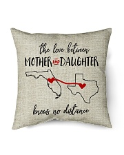 """FLORIDA TEXAS THE LOVE MOTHER AND DAUGHTER Indoor Pillow - 16"""" x 16"""" front"""