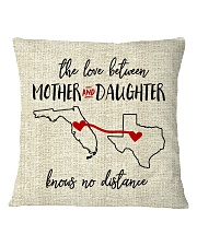 FLORIDA TEXAS THE LOVE MOTHER AND DAUGHTER Square Pillowcase thumbnail