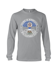 LIVING IN MINNESOTA WITH CALIFORNIA ROOTS Long Sleeve Tee thumbnail