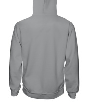 OHIO GIRL LIVING IN NEW JERSEY WORLD Hooded Sweatshirt back