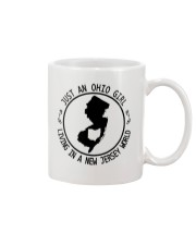 OHIO GIRL LIVING IN NEW JERSEY WORLD Mug thumbnail