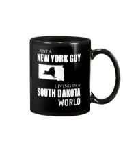 JUST A NEW YORK GUY IN A SOUTH DAKOTA WORLD Mug thumbnail