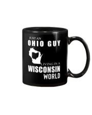 JUST AN OHIO GUY IN A WISCONSIN WORLD Mug thumbnail
