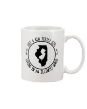 NEW JERSEY GIRL LIVING IN ILLINOIS WORLD Mug thumbnail