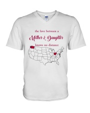 OHIO WASHINGTON THE LOVE MOTHER AND DAUGHTER V-Neck T-Shirt thumbnail