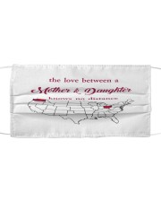 OHIO WASHINGTON THE LOVE MOTHER AND DAUGHTER Cloth face mask thumbnail