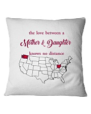 OHIO WASHINGTON THE LOVE MOTHER AND DAUGHTER Square Pillowcase thumbnail