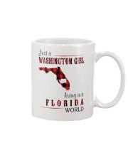 JUST A WASHINGTON GIRL IN A FLORIDA WORLD Mug thumbnail
