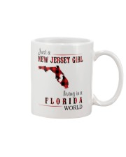 JUST A NEW JERSEY GIRL IN A FLORIDA WORLD Mug thumbnail