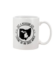 MICHIGAN GIRL LIVING IN OHIO WORLD Mug thumbnail