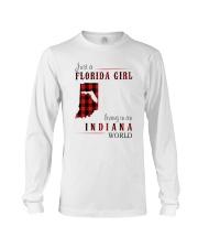 JUST A FLORIDA GIRL IN AN INDIANA WORLD Long Sleeve Tee thumbnail