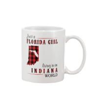 JUST A FLORIDA GIRL IN AN INDIANA WORLD Mug thumbnail