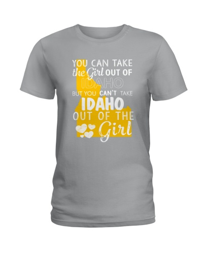 YOU CAN'T TAKE IDAHO OUT OF THE GIRL