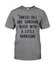 TENNESSEE GIRLS ARE SUNSHINE Classic T-Shirt thumbnail