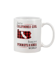 JUST A CALIFORNIA GIRL IN A PENNSYLVANIA WORLD Mug thumbnail