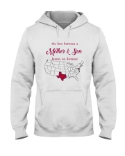 TEXAS MARYLAND THE LOVE MOTHER AND SON Hooded Sweatshirt thumbnail