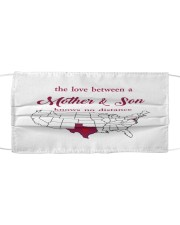 TEXAS MARYLAND THE LOVE MOTHER AND SON Cloth face mask thumbnail