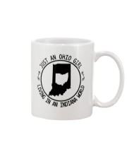 OHIO GIRL LIVING IN INDIANA WORLD Mug thumbnail