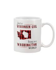 JUST A WISCONSIN GIRL IN A WASHINGTON WORLD Mug thumbnail