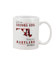 JUST AN ARIZONA GIRL IN A MARYLAND WORLD Mug thumbnail