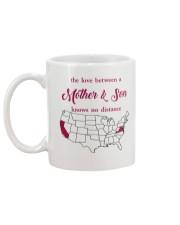 CALIFORNIA VIRGINIA THE LOVE MOTHER AND SON Mug back