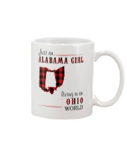 JUST AN ALABAMA GIRL IN AN OHIO WORLD Mug thumbnail