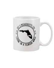 MASSACHUSETTS GIRL LIVING IN FLORIDA WORLD Mug thumbnail